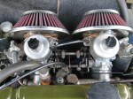 Two beautiful twin carburetors!