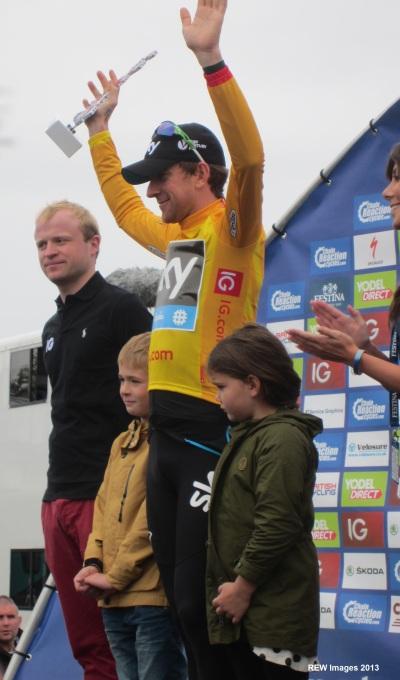 Bradley Wiggins Tour of Britain Win 2013